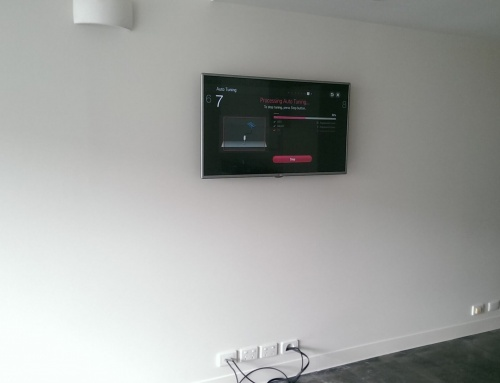 TV Wall Mounting in Apartment in Port Melbourne