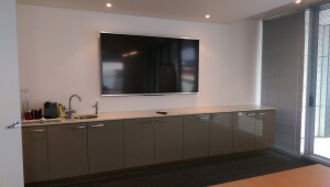 TV Mounting on the Wall